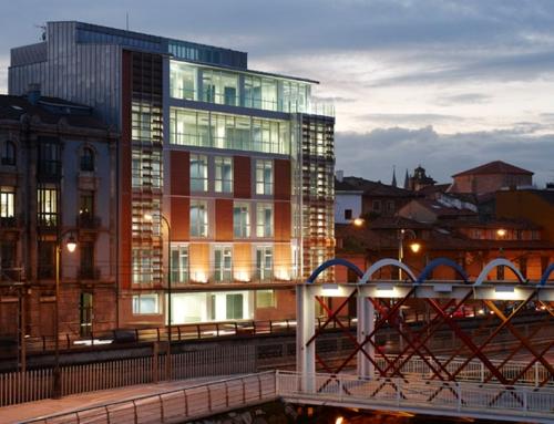 Edificio para oficinas del Principado de Asturias en Avilés