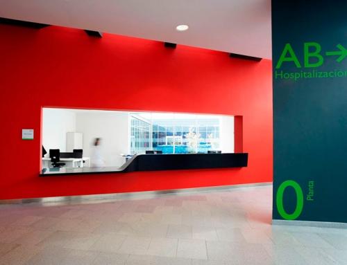 Interiorismo del Hospital Universitario Central de Asturias (HUCA)