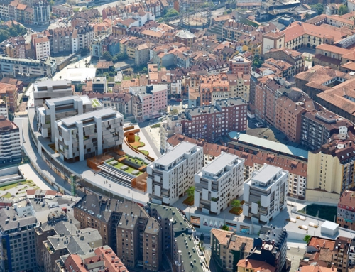 """Urbanización y Proyecto de Conjunto de actuación en parcela """"El Vasco"""" en Oviedo"""
