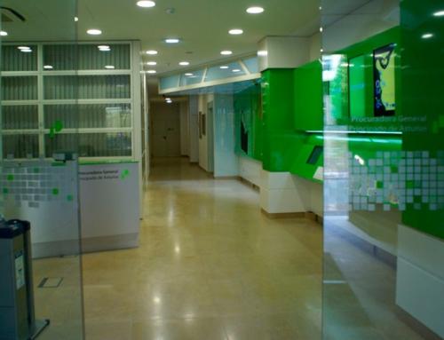 Interiorismo de la nueva sede de la Procuradora General del Principado de Asturias