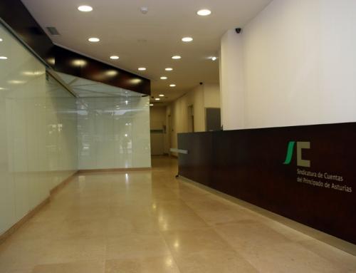 Interiorismo de la nueva sede de la Sindicatura de Cuentas del Principado de Asturias