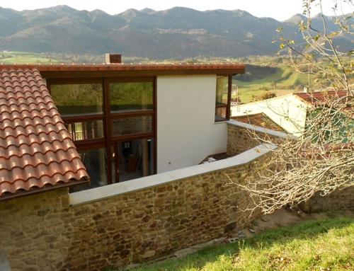 Rehabilitación de dos viviendas unifamiliares en área rural asturiana