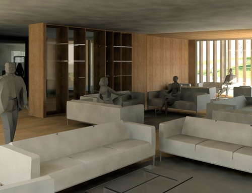 Interiorismo del Centro Ecuestre de Sariego