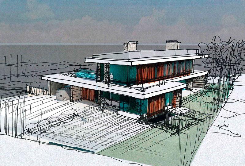 Arquitecto ver nica dur n sela i vivienda unifamiliar gij n - Arquitectos gijon ...