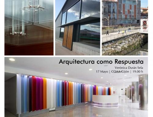 """Conferencia """"Arquitectura como respuesta"""""""